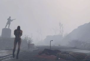 Whispering Hills, the mod that brings Silent Hill to Fallout 4, gets its first episode A creature walks down a foggy street 4