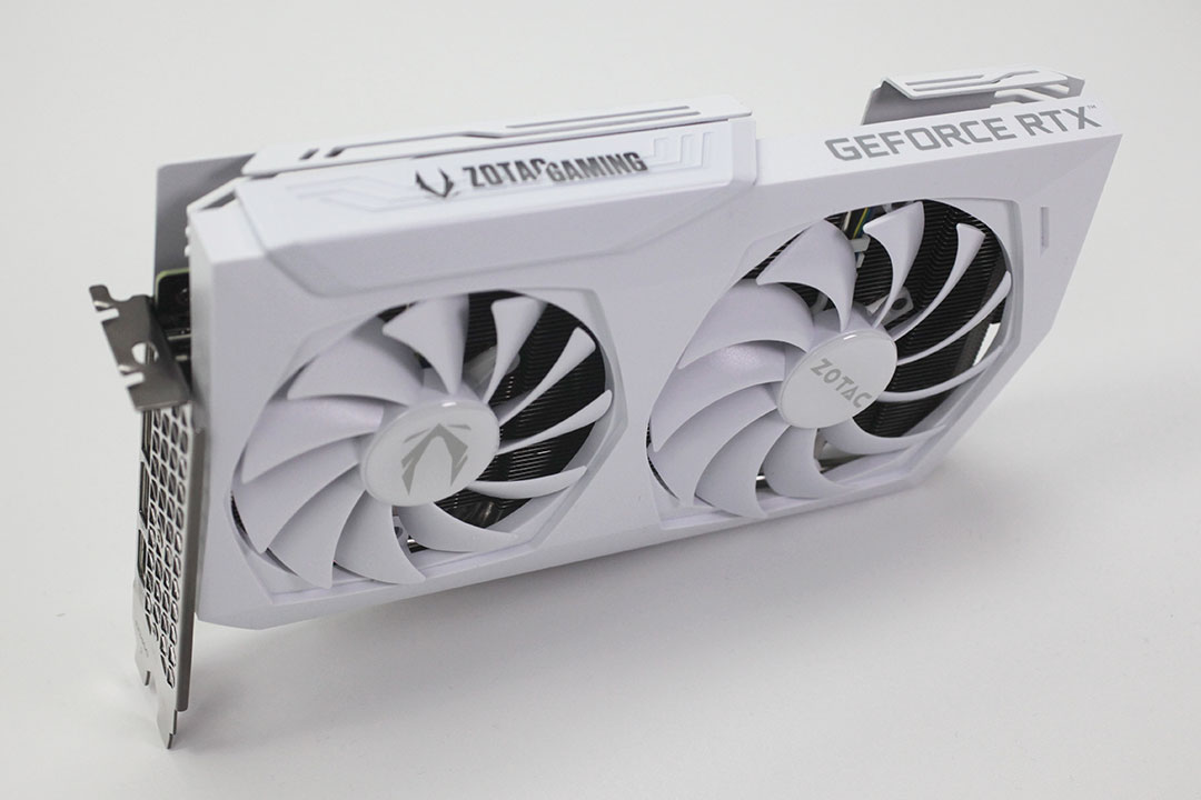 Zotac GeForce RTX 3060 AMP; The Small White One 1