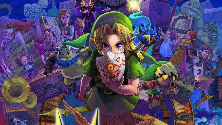 Anniversary: The Legend Of Zelda: Majora's Mask Is Now 21 Years Old In Japan 1
