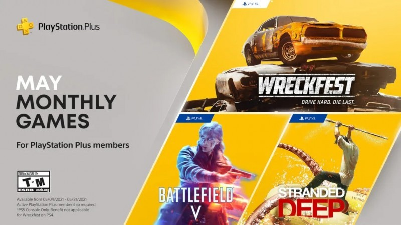 Free PS Plus May 2021 Games Revealed, Including Battlefield V 1