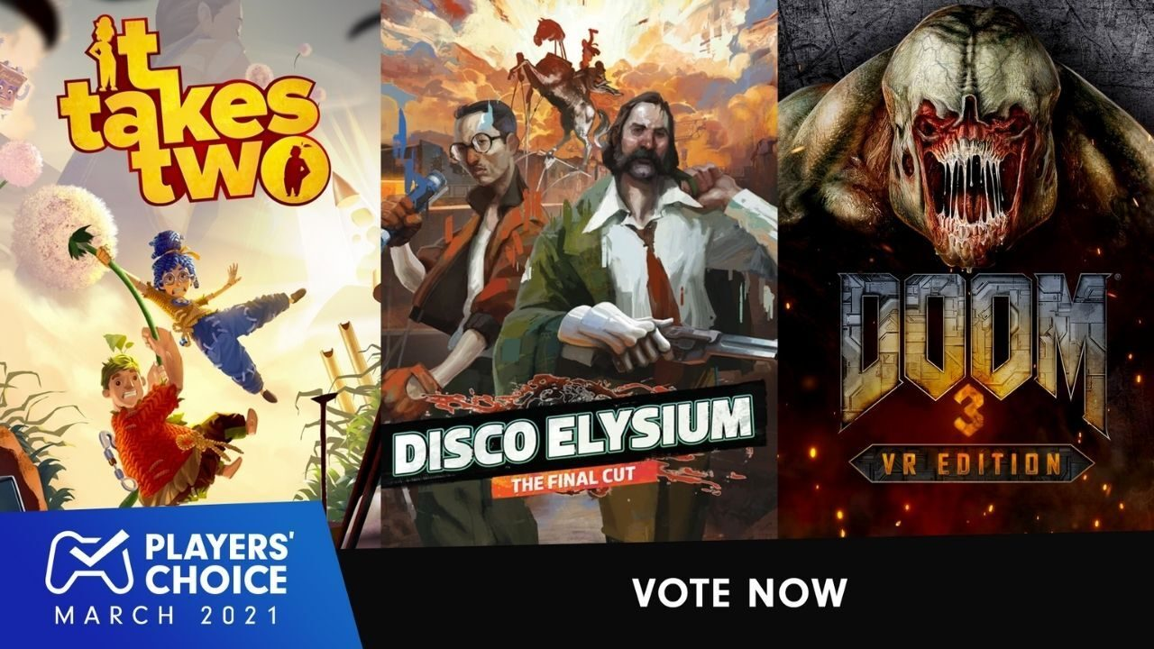 Players' Choice: Vote for March's best new game 1