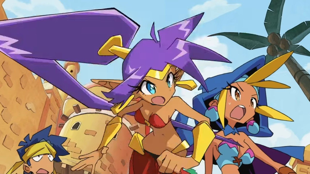 Reminder: The Entire Shantae Series Is Now Available On The Nintendo Switch 1