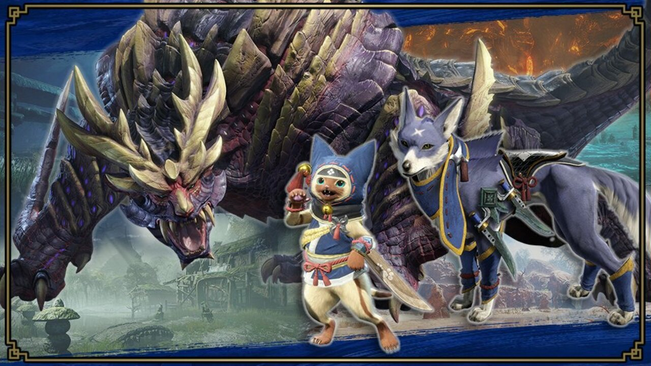 Three Brand New Monster Hunter Rise Spirits Are Being Added To Smash Bros. 1