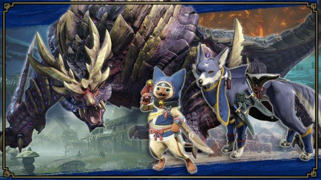 Three Brand New Monster Hunter Rise Spirits Are Being Added To Smash Bros. 2