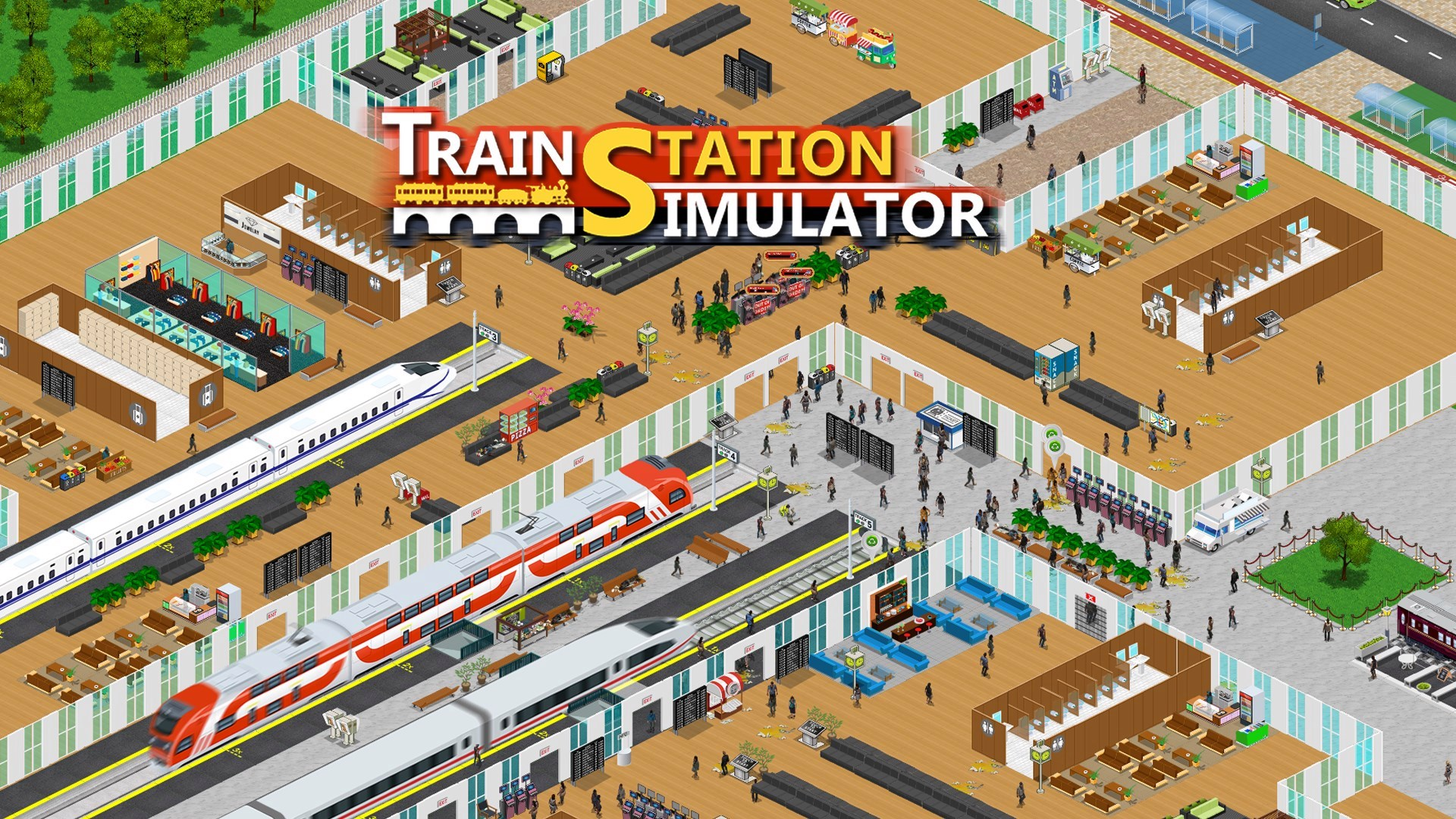 Train Station Simulator Is Now Available For Xbox One And Xbox Series X|S 1