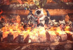 Watch YouTuber Babish make the chef's choice platter from Monster Hunter: World A cat chef flexes his muscles over burning meat 4