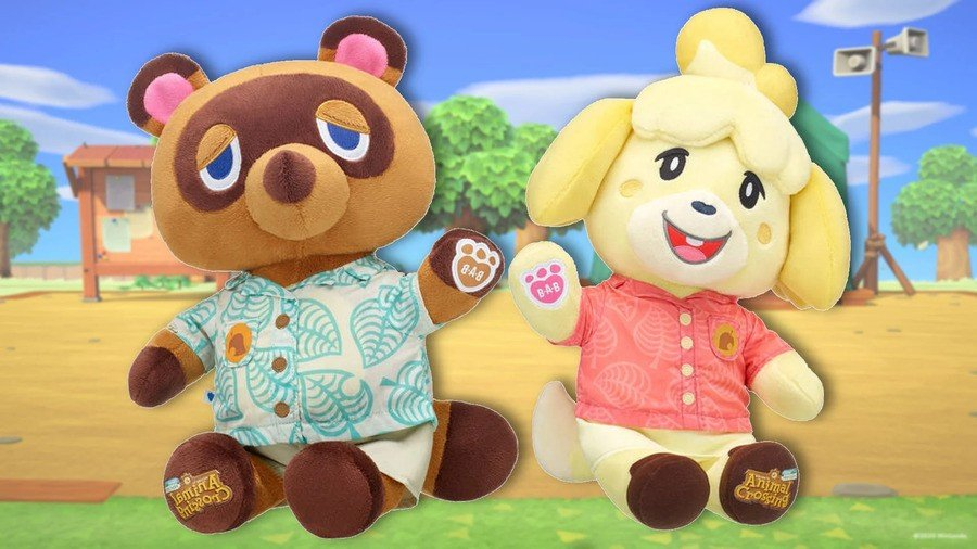Animal Crossing Build-A-Bear Orders Return Today In North America 1