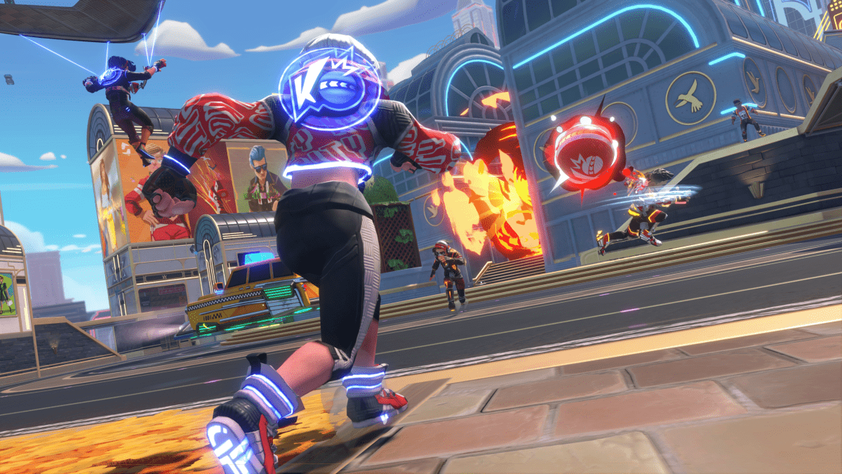EA's dodgeball shooter Knockout City will be free for 10 days at launch A Knockout City image. 1