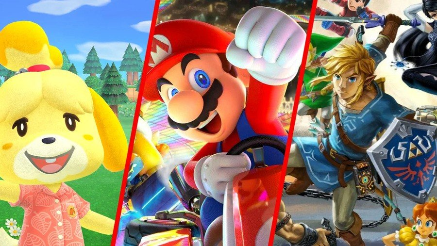 Mario Kart 8 Deluxe Retains Its Crown In Nintendo Switch Best-Selling Games List 1