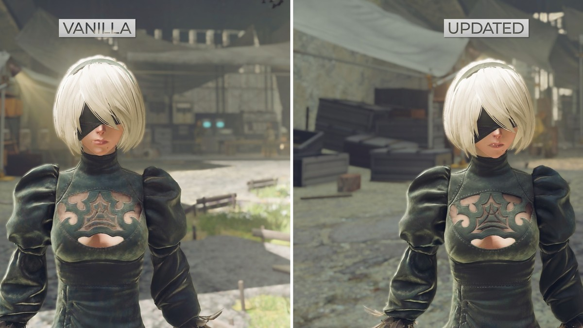 Modder's Nier: Automata HD texture pack finally complete after four years of development 1