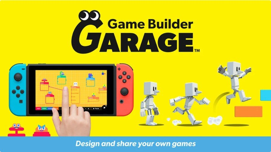 Nintendo Announces Game Builder Garage, A Quirky Programming Game For Switch 3