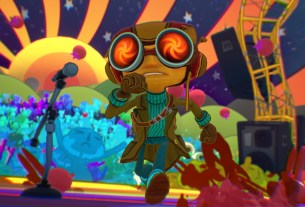 Tim Schafer and Ben Reeves on Game Informer's Psychonauts 2 Cover Story 3