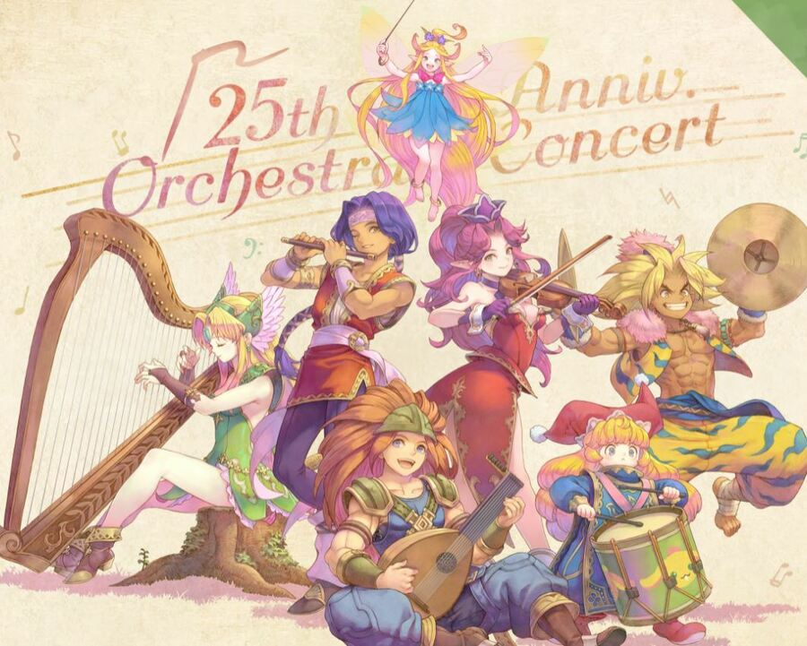 Trials Of Mana 25th Anniversary Concert Virtual Tickets Go On Sale 1
