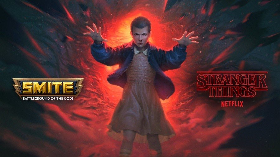 A Stranger Things Cross-Promo Is On The Way To The Godly MOBA Smite 1