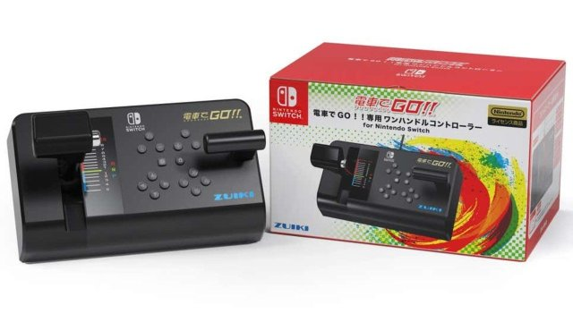 All Aboard! The Nintendo Switch Is Getting A Train Controller In Japan 2