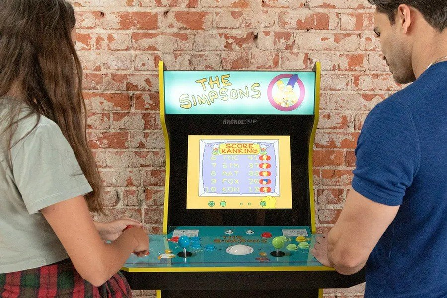 Classic Arcade Game 'The Simpsons' Will Get A New Cabinet This Year 1