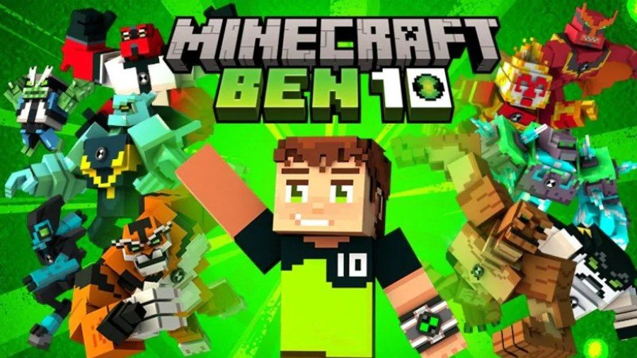 Defeat Evil With Minecraft's New Ben 10 DLC, Now Available On The Marketplace 1