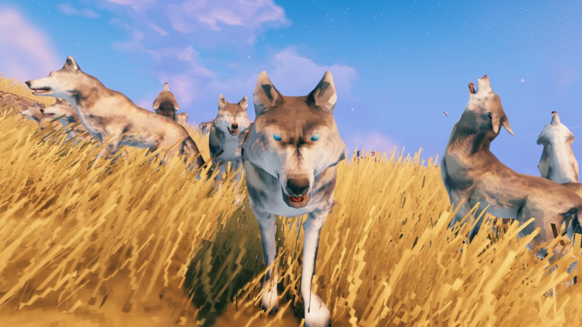Valheim mod lets you punch wolves with your own two hands in VR Valheim 1
