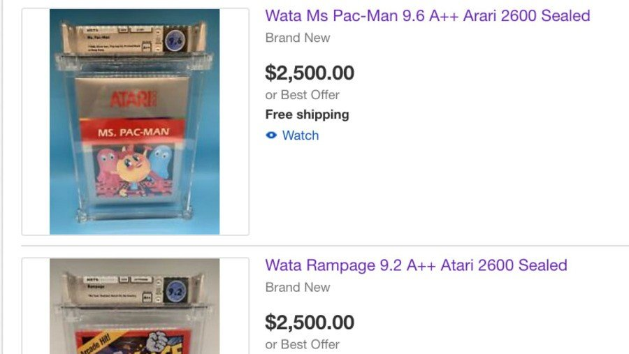 Co-Founder Of Game Grading Service WATA Accused Of Selling Company's Games On eBay 1