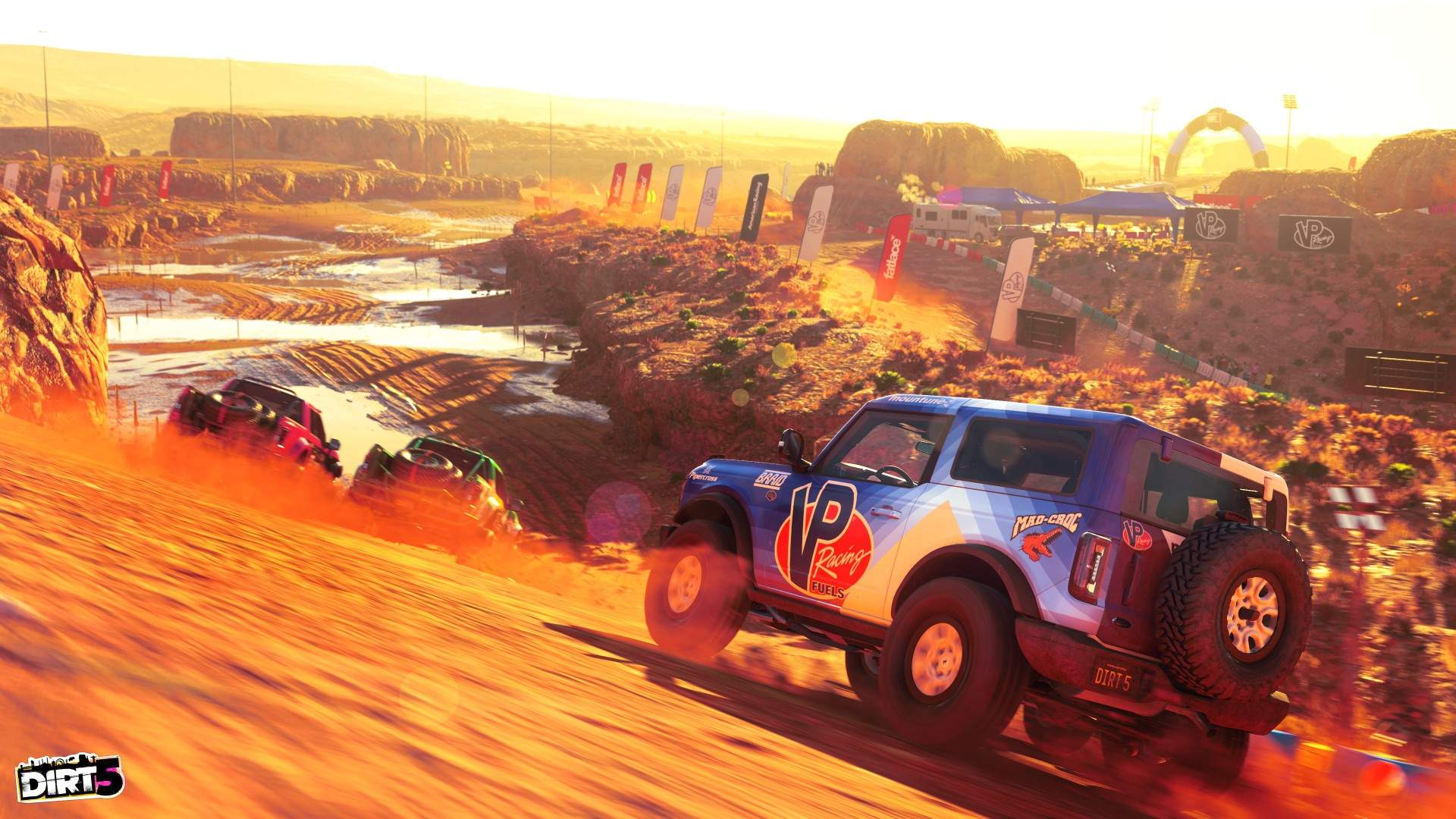 Dirt 5 Drops the New Ford Bronco into the Off-Road Action in Latest Content Pack 6