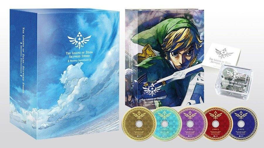 Japan's Getting A Stunning Zelda: Skyward Sword Soundtrack With An Adorable Music Box 1