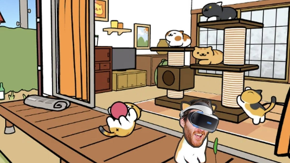 Neko Atsume VR: Kitty Collector might be the most adorable VR game ever 1