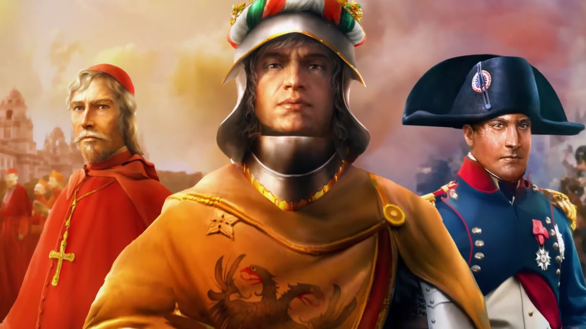 Here are all the free games you can grab right now EU4's Emperor expansion, featuring an emperor. 1