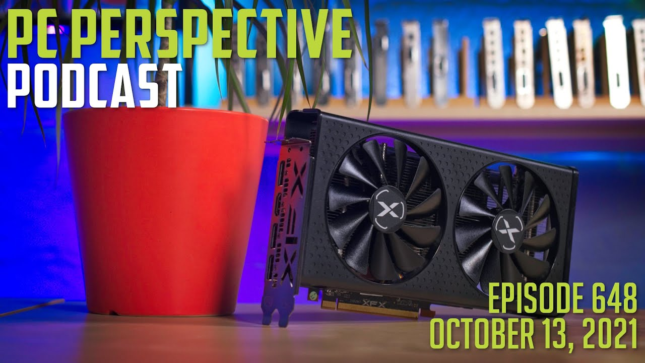 Podcast #648 – AMD RX 6600 Review, Windows 11 Ryzen Issues, DRAM Pricing + MORE! 9
