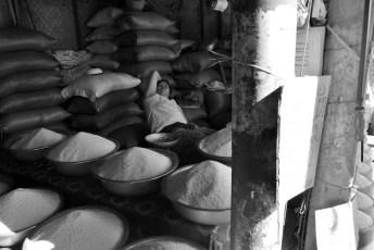 Durmiendo entre arroz. Con clase, eso sí.
