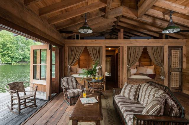 Interior Design For A Lake Cabin Thayer Amp Reed
