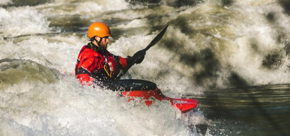 Kayaking in Rishikesh Uttarakhand