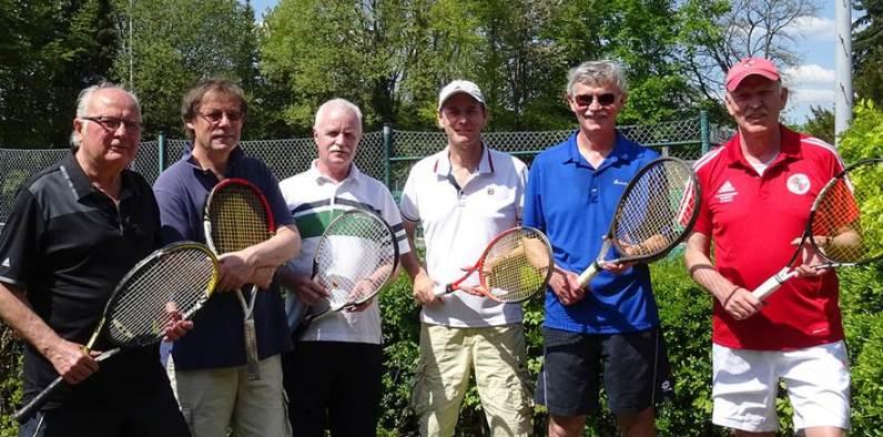 v.l.n.r.: Josef Dzionsko, Wolfram Andersch, Jürgen Heuser, Jürgen Meier, Bernhard Brandhofer, Klaus Roder