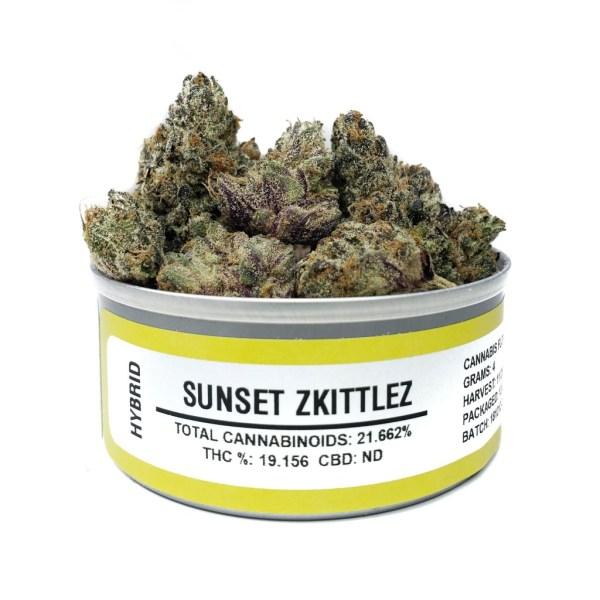 Buy Sunset Zkittlez Space Monkey budcans