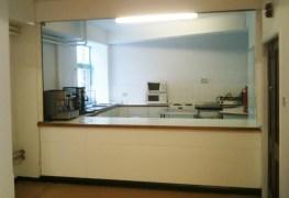 The Narthex kitchen, revamped