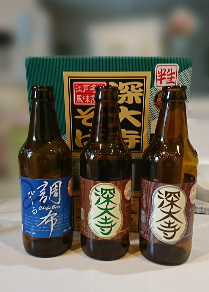 深大寺ビール、深大寺そば