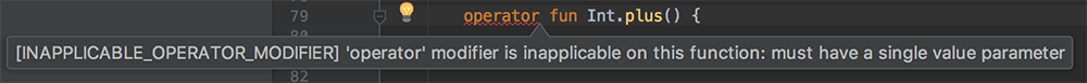 plus-operator-error