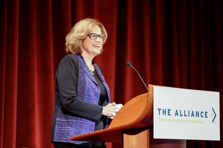 Sally Welborn at The Alliance Annual Seminar