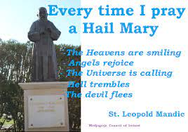 Saint of the Day Quote:  Saint Leopold Mandic