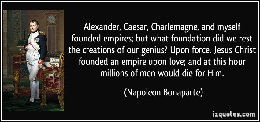 May 5, 1821:  Napoleon Dies