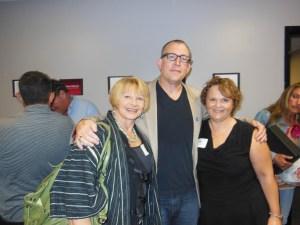 Joanne Lara, Matt Asner, and Caroline Wilson