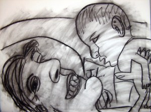 "Jonathon Lerman ""Mother and Child"""