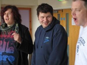 Making friends at Apex Workshop