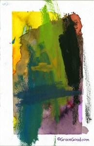 Grace Goad - Watercolor on paper