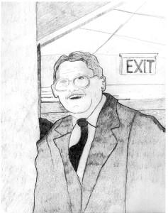 "Michale Bumblauskas ""Portrait of Grandfather"""