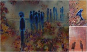 Donna Williams' art was the inspiration