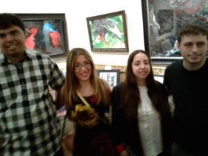 Kevin, Dani, Mia, Max