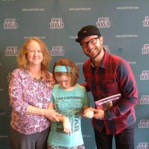 Kim Dixon with her parents