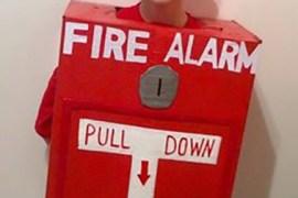 Grandy as a fire alarm