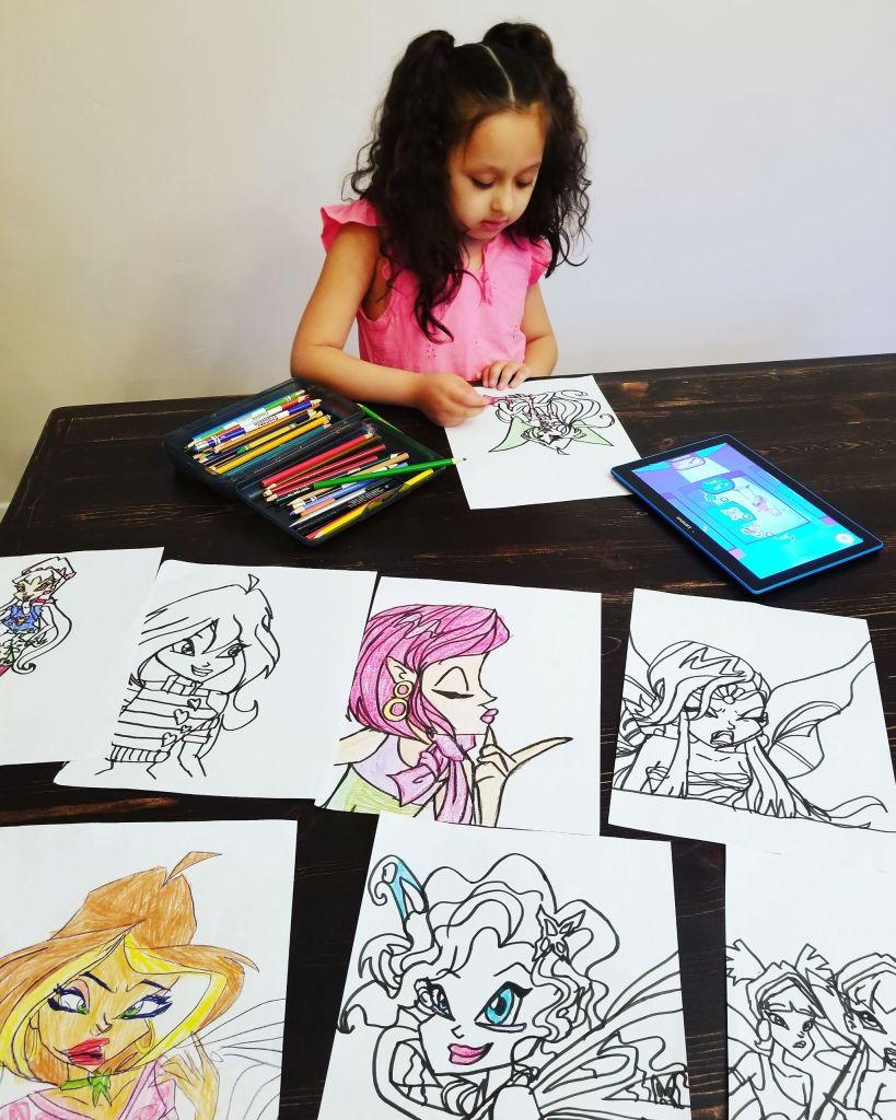Sofia Drawing
