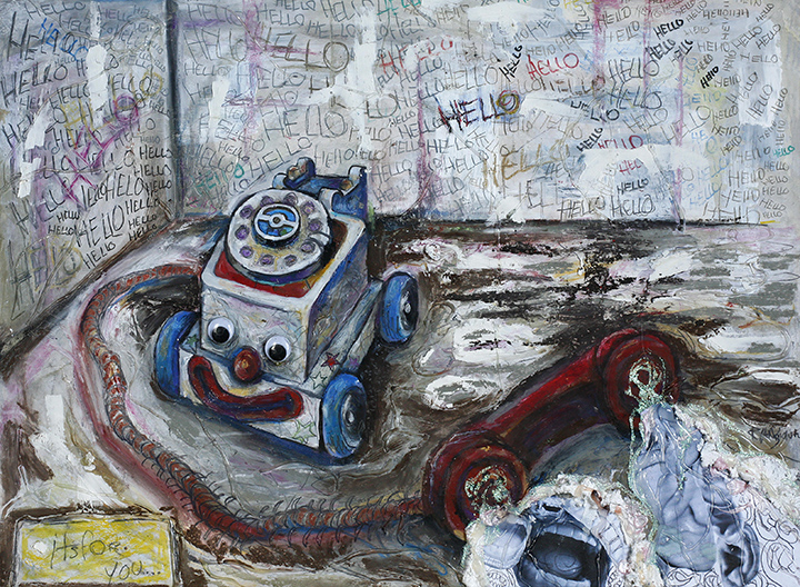 Artist With Autism Illustrates >> Ryan Smoluk S Art Work Provides Insight Into Mental Illness The